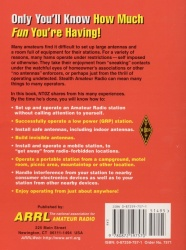 Stealth Amateur Radio backside of the book!