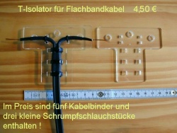 Feedpoint isolator, a Zepp is (voltage)fed only from one side of the dipole! Photo from DX-wire.de website