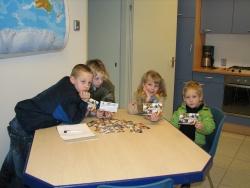 Deze kids waren actief op het kidsday station van Jan Sander, PA3GON