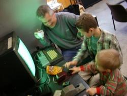 Morse oefenen op de computer, altijd spannend!